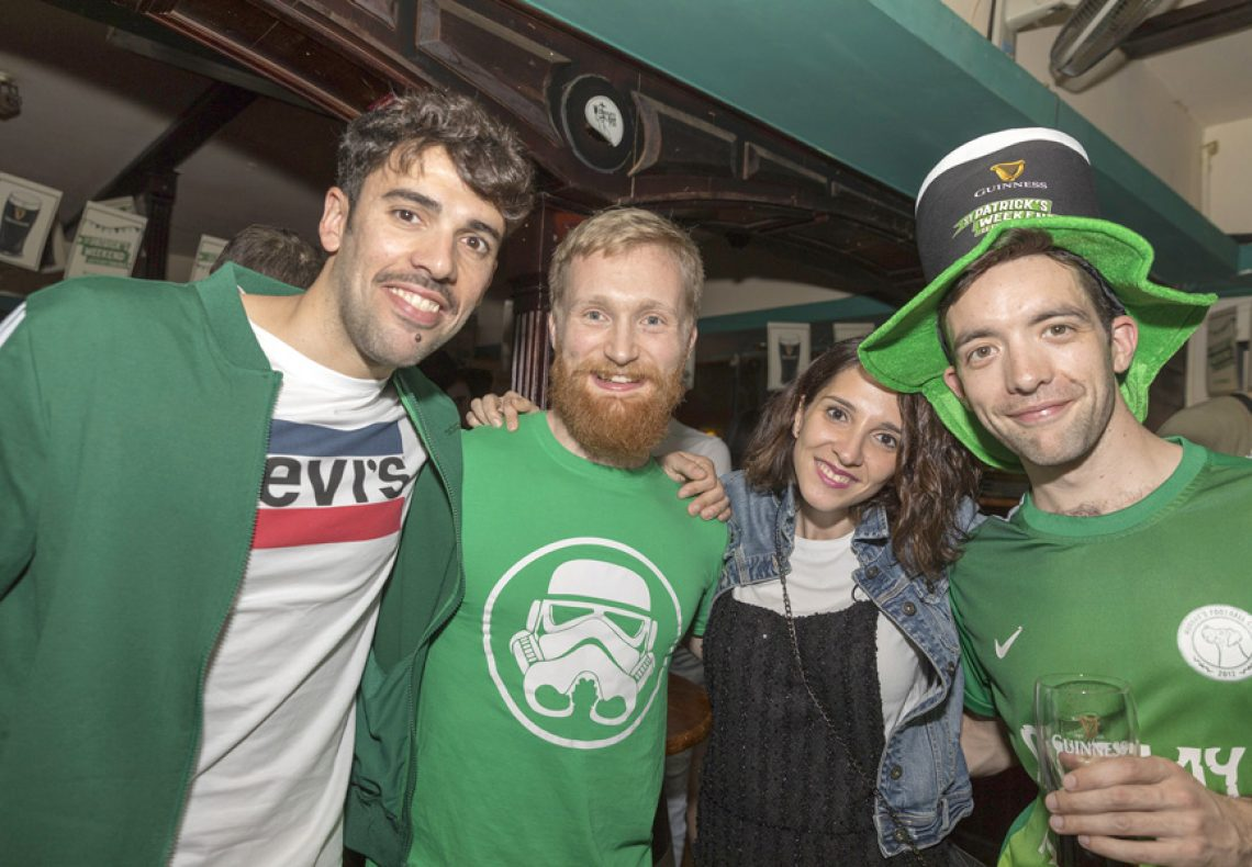 St. Patrick's Day, From Ireland to Dongguan